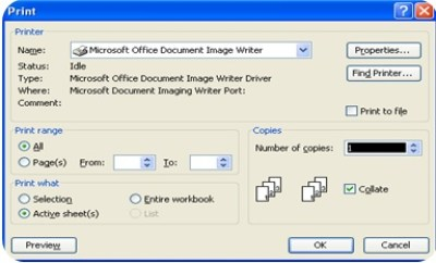 Microsoft Excel 2003 : File Menu and Its Commands-2 6