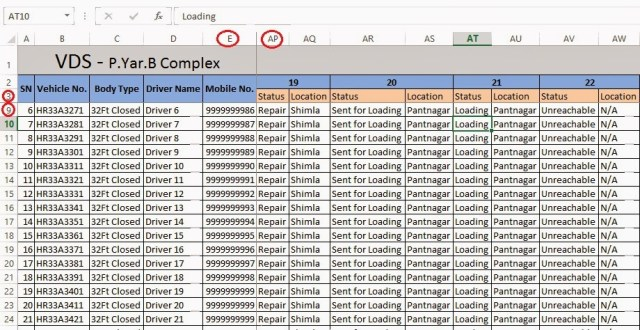 Fix Rows & Columns Simultaneously in Microsoft Excel 6