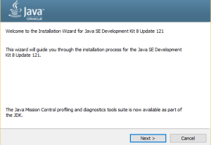 Java SE setup JDK