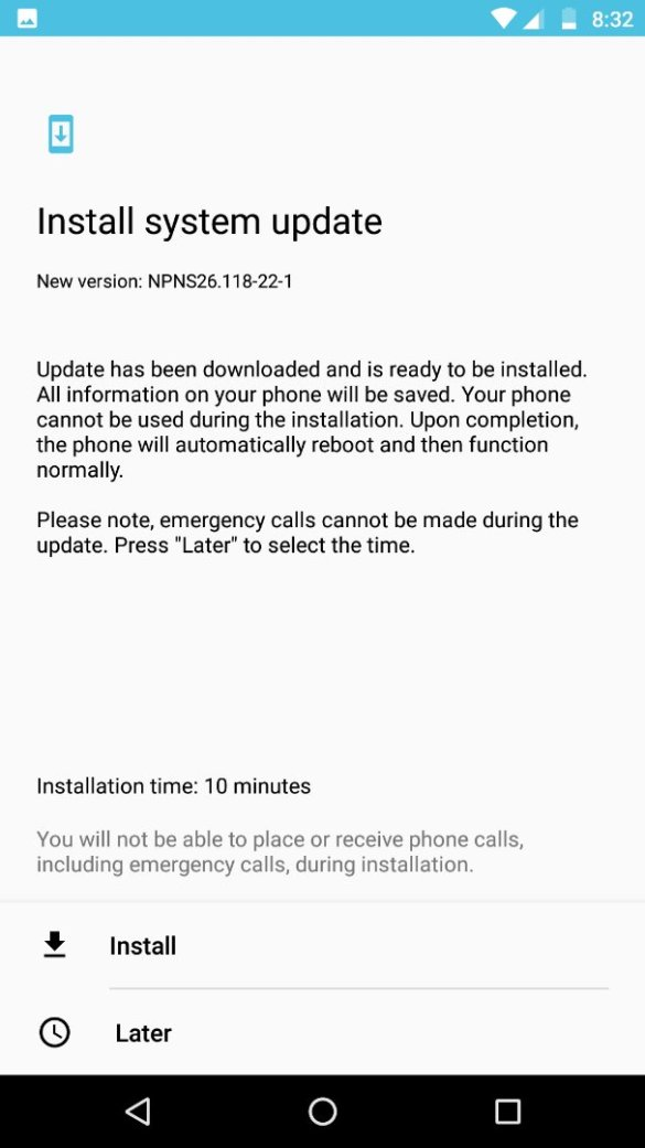 Update for Moto Z Play - NPNS26.118-22-1 Available in India 4