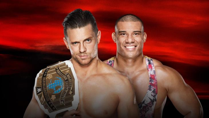 No Mercy 2017 - The Miz vs Jason Jordan for Intercontinental Championship