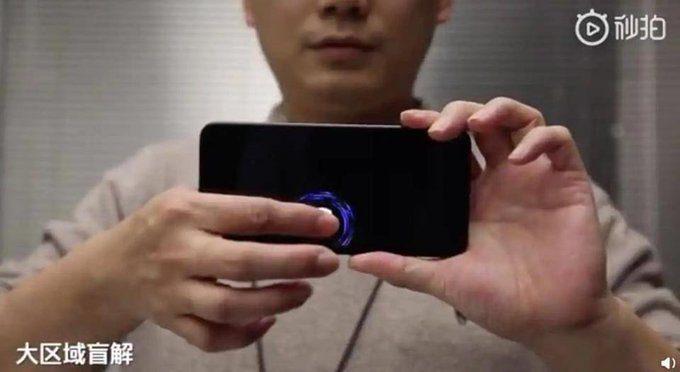 All Screen Fingerprint Sensor for phones