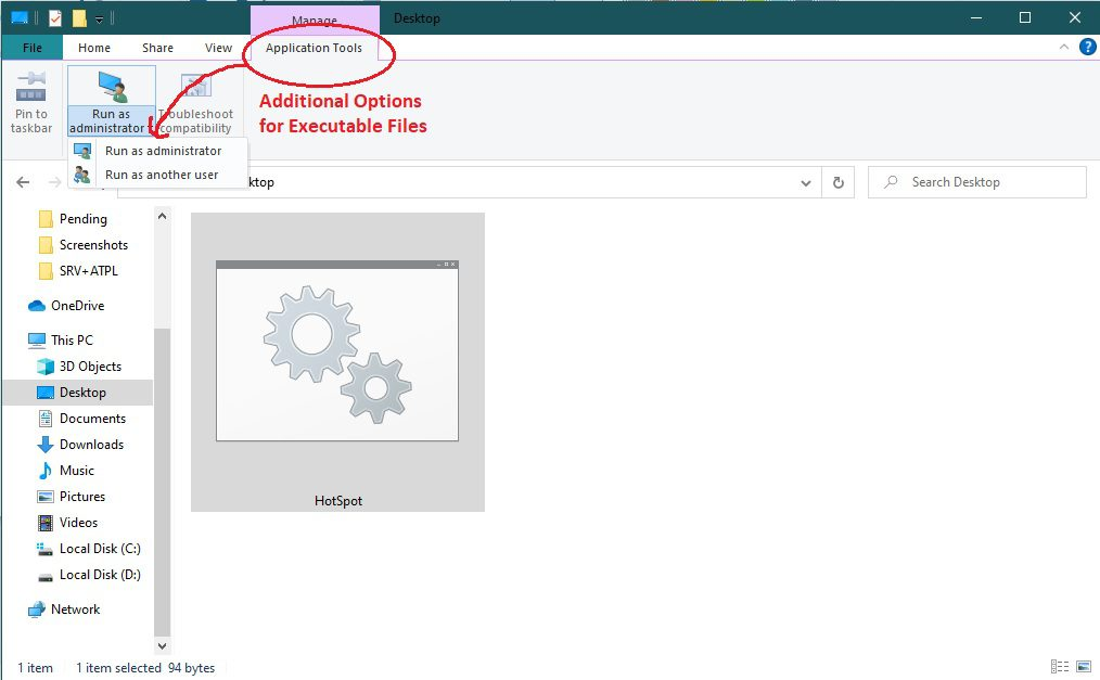 Create Batch file with Windows, BATCH File ICON & Extra tools in Explorer
