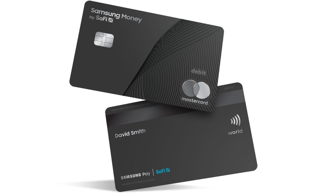 Samsung Money by SoFi Debit Card Design