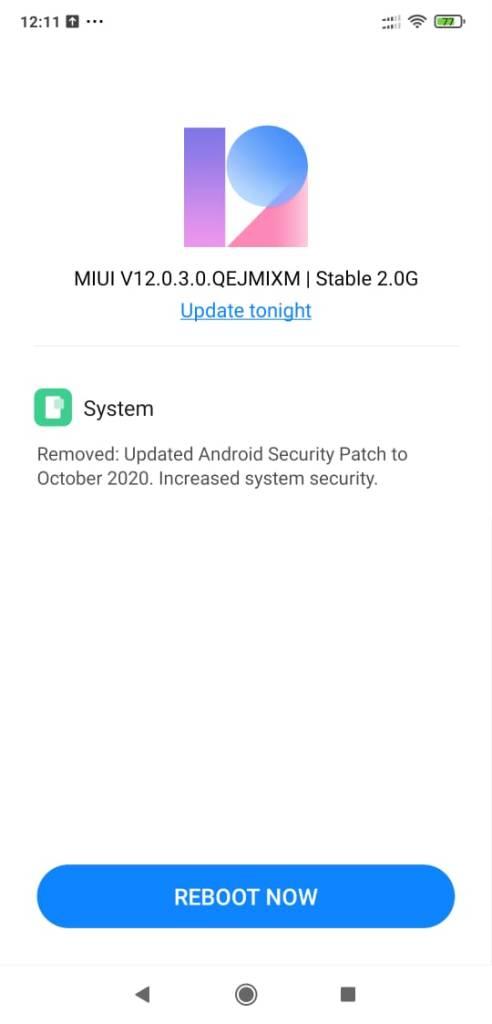 What's new in V12.0.3.0.QEJMIXM update?
