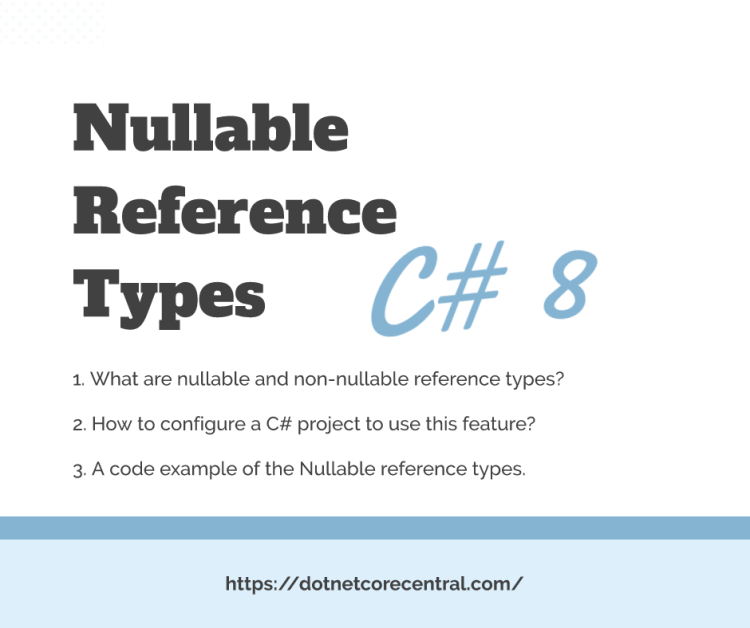 Nullable reference types in C# 8