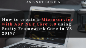 Build a microservice in Asp.Net Core 5