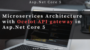 microservices with ocelot api gateway using asp.net core
