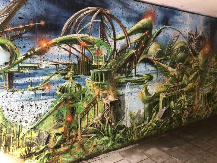 Graffiti in Schwabing