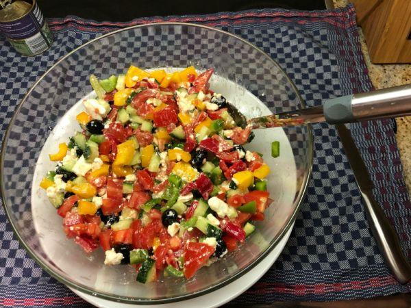 Fertig ist der Salat