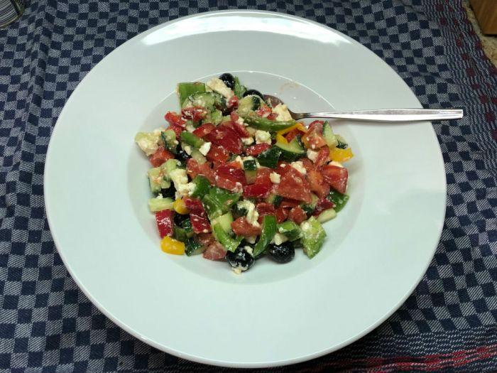 Da ist er, der Salat zum Löffeln