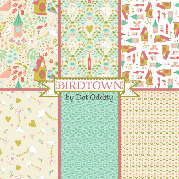 Birdtown collection by Maria Larsson