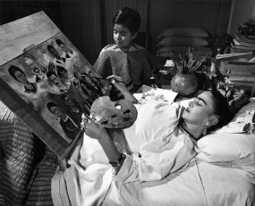 Frida Kahlo photo Hans Gutmann 1951