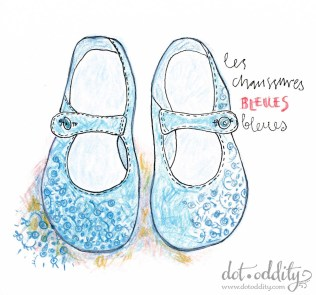 the little shoe project 2015 january by Maria Larsson