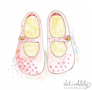 the little shoe project 2015 february by Maria Larsson