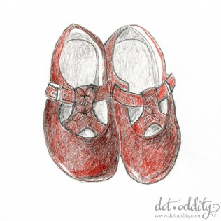 the little shoe project 2015 july by Maria Larsson