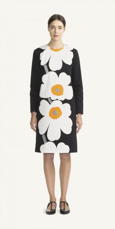Lenita, dress by Marimekko, photo by Marimekko