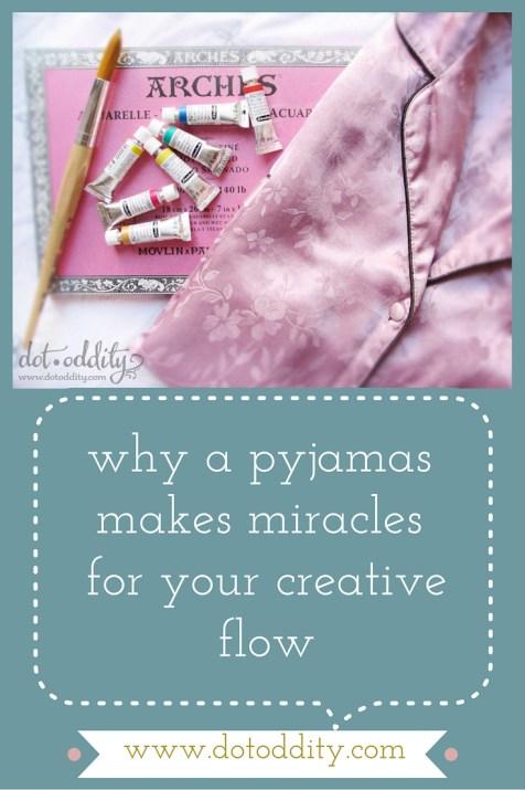 Why a pyjamas makes miracles