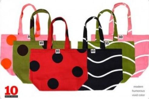 Ten Swedish Designers shopping bags
