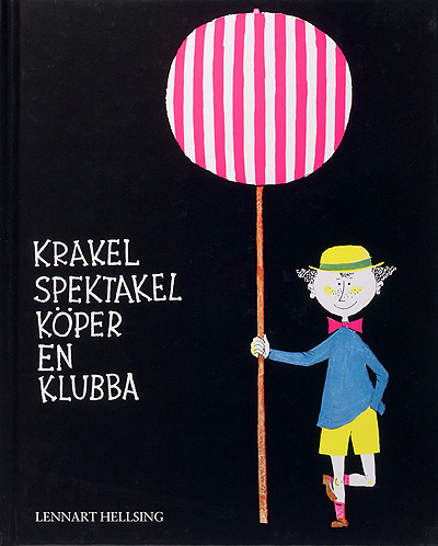 Krakel spektakel children illustration Stig Lindberg