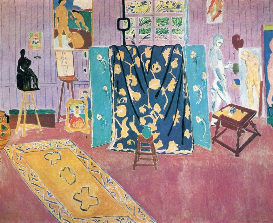 The Pink Studio 1911 Henri Matisse