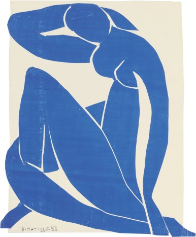 Blue Nude II 1952 Henri Matisse