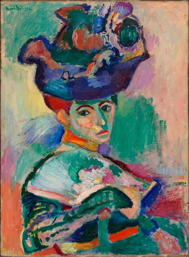 Women with a Hat 1905 Henri Matisse