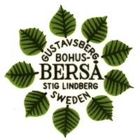 Berså stamp from Gustavsberg Factory