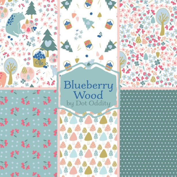 Blueberry Wood collection by Maria Larsson