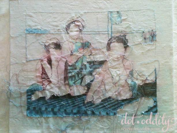 Drei im Strand by Rita Zepf