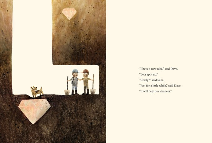 Sam & Dave Dig a Hole by Mac Barnett, illustrated by Jon Klassen