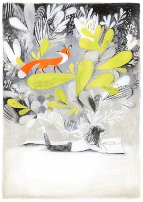Jane, le renard et moi by Isabelle Arsenault