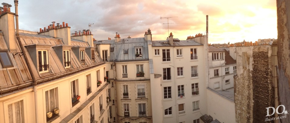 Paris studio view