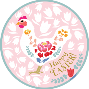 Happy Easter by Maria Larsson