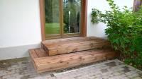 Garden site stairs (mini terrace) renovation