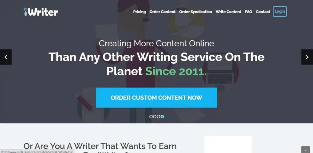 35 páginas para ganar dinero por internet. iWriter.