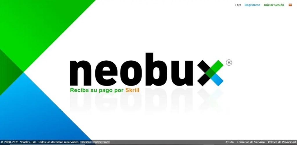 35 páginas para ganar dinero por internet. Neobux.