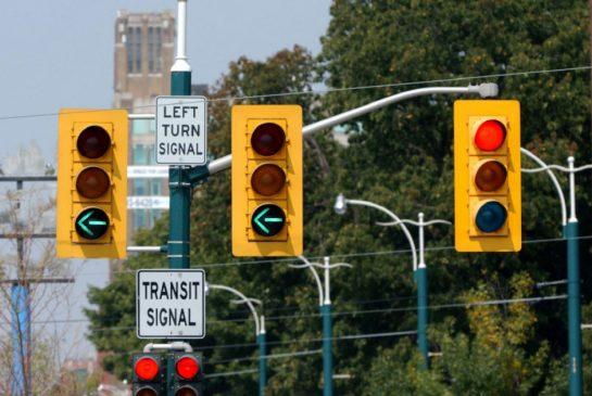 left turn traffic light