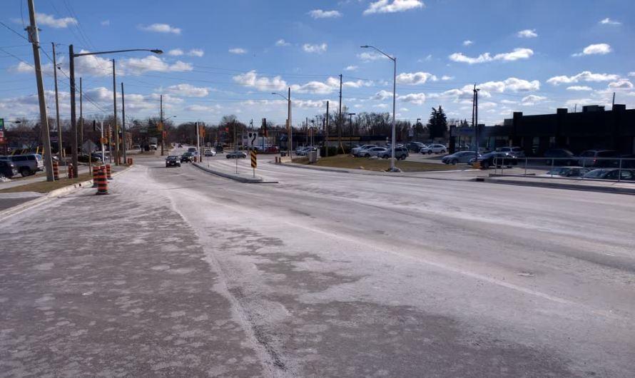 Чем посыпают дороги в Канаде — доказательства