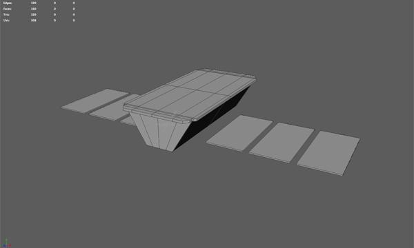 Satellite model