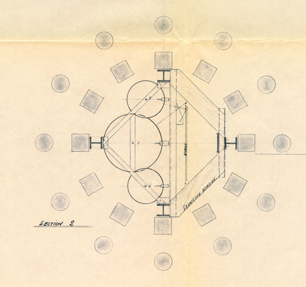 Lantern cross section