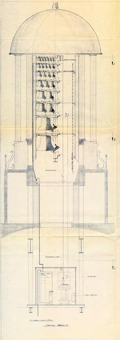 Lantern elevation