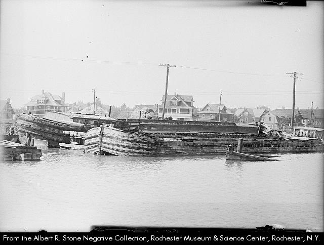 Canal Boat Graveyard