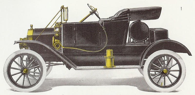 1912 Ford Torpedo Runabout