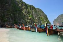 Vista clássica da Tailândia