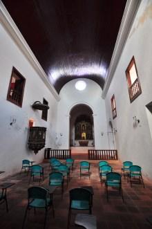 Visão geral da área interna da Igreja de São Paulo