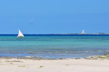 Notem que este não é o mesmo farol da foto ao lado. Este é o da Ilha de Goa.