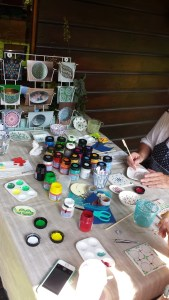 High tea met workshop za 18 mei 2019 @ DotsDesign - kadeatelier
