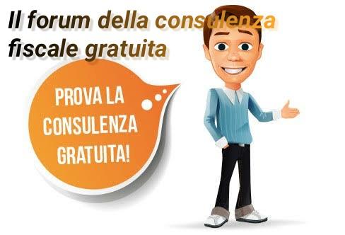 Il nuovo forum per la consulenza fiscale gratuita