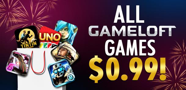 Gameloft Sale